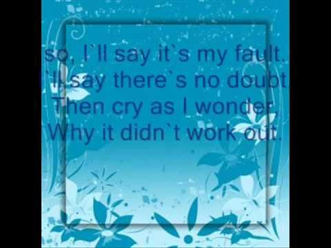 roy orbison i'll say its my fault (lyrics)