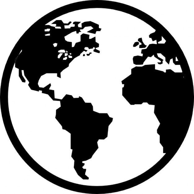 Baixe Terra Gratuitamente Globe Icon Vector Icon Design World Icon