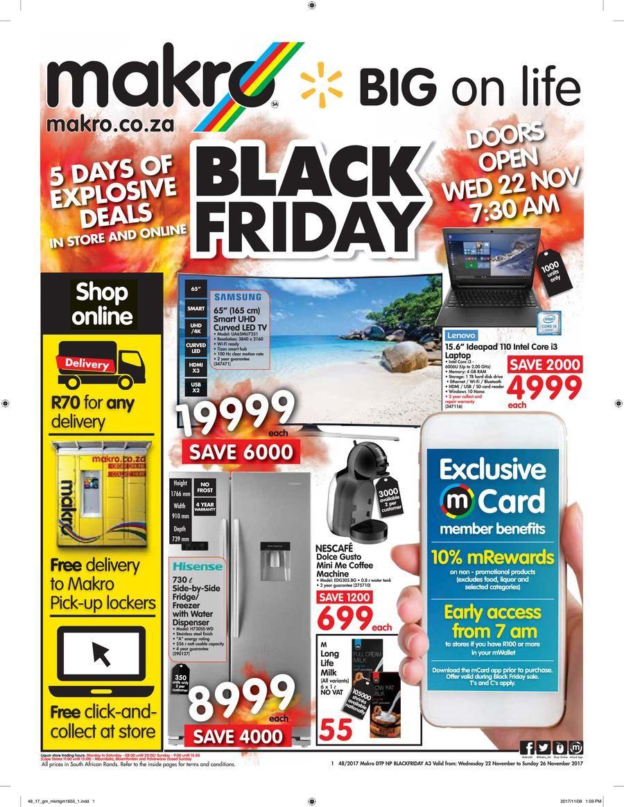 Makro Black Friday Catalog Black Friday Black Friday Specials