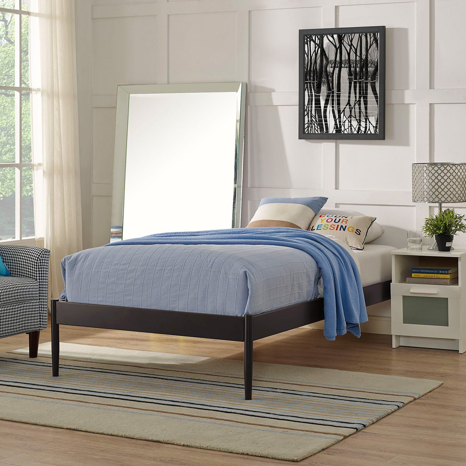 Modway Elsie Platform Bed from Bed frame