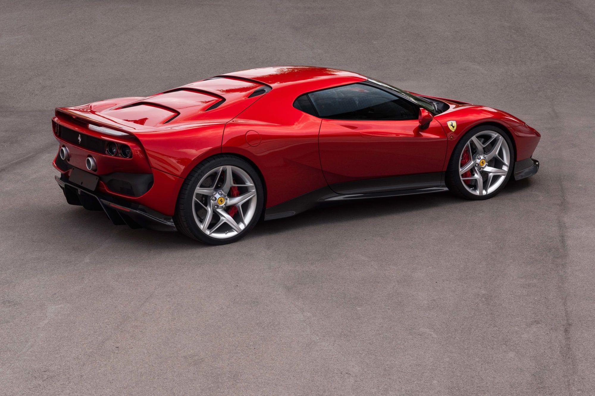Ferrari Builds An F40 Inspired One Off For A Very Lucky Customer Ferrari Super Cars Sports Car