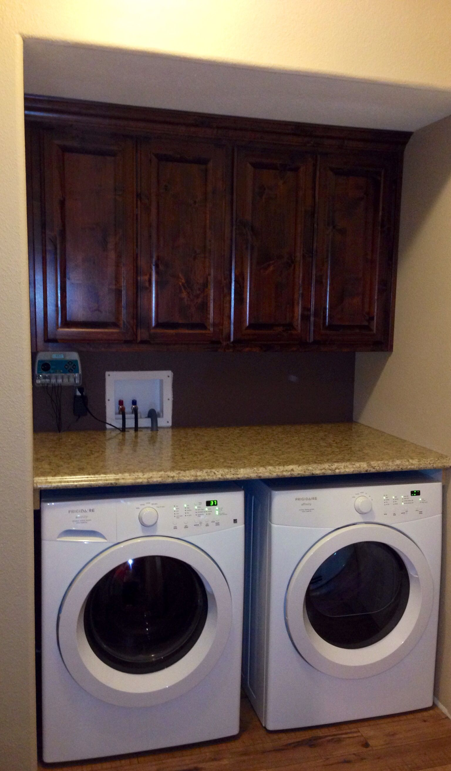 Counter Top Over Front Load Washer And Dryer Laundry