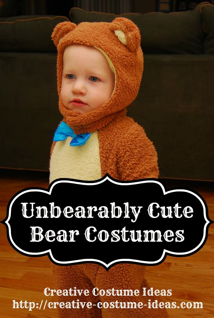Bear costume  sc 1 st  Pinterest & These cute Bear Halloween Costumes are perfect for Halloween or ...