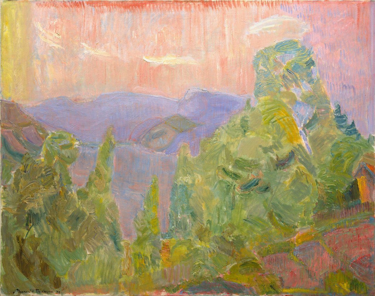 "terminusantequem: "" Thorvald Erichsen (Norwegian, 1868-1939), From Holmsbu…"