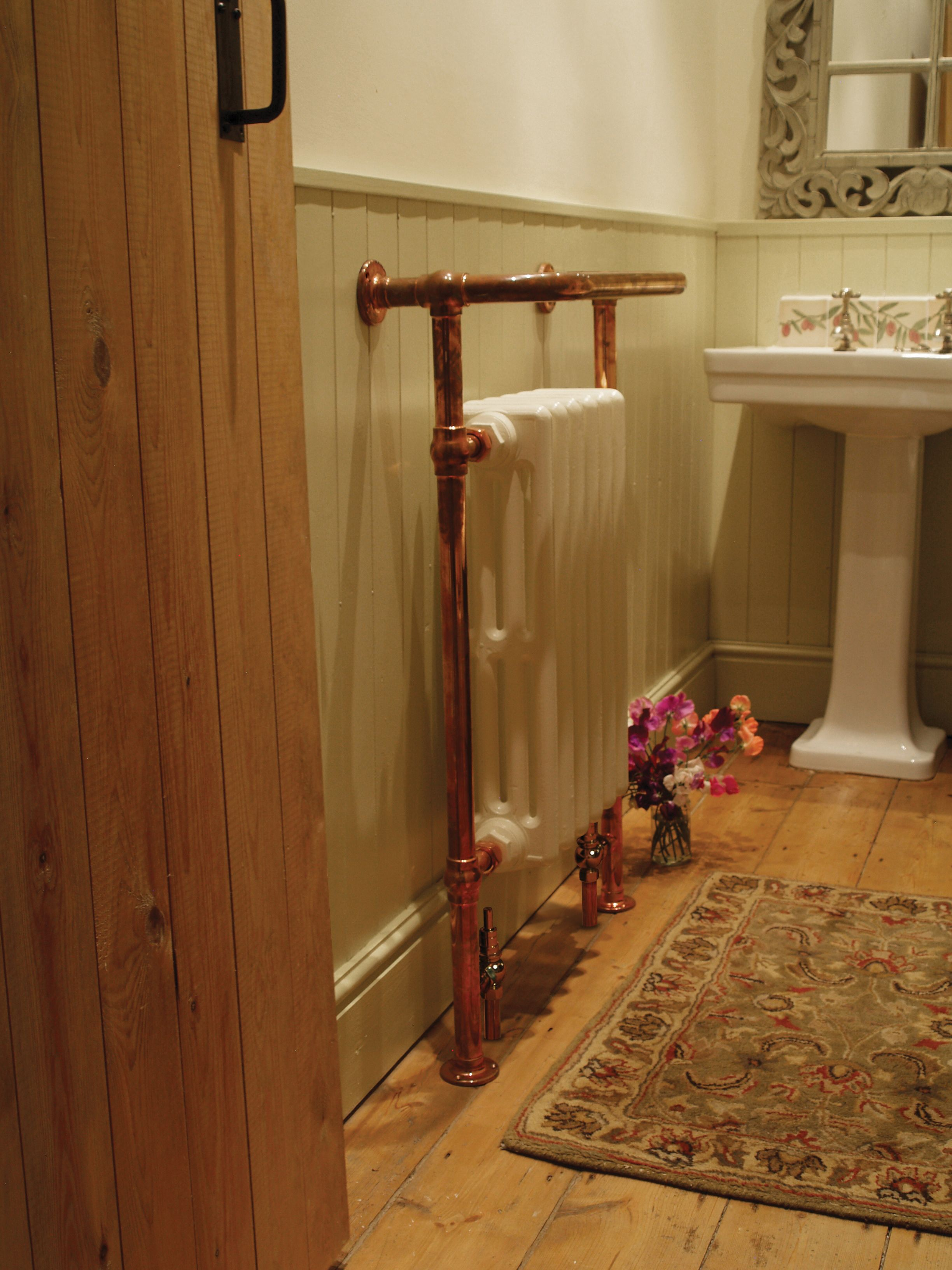 Carron Broughton Copper Bathroom Towel Rail is available to purchase from UKAA. You can all the office on 01543 222 923