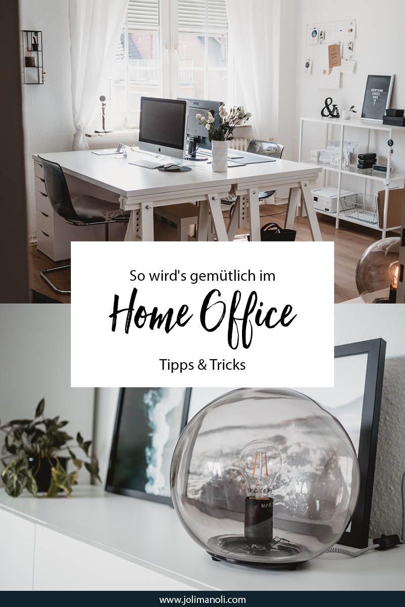 GroBartig So Wirdu0027s Gemütlich Im Home Office: Dekoration, Prints, Pflanzen. Tipps Und  Tricks