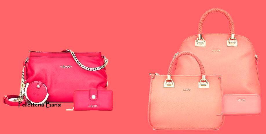 LiuJo pink  bags  Claire  Anna    Sofia collectio S 9effa40b72c