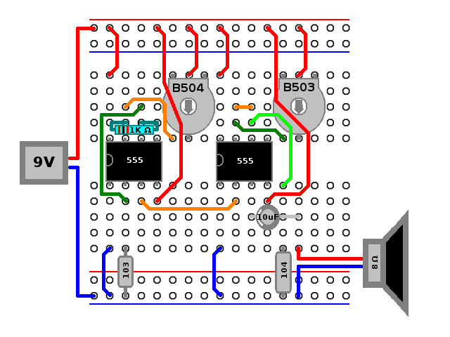 I Put Together An Atari Punk Console On A Breadboard With Couple Rhpinterest: Atari Wiring Diagram At Gmaili.net