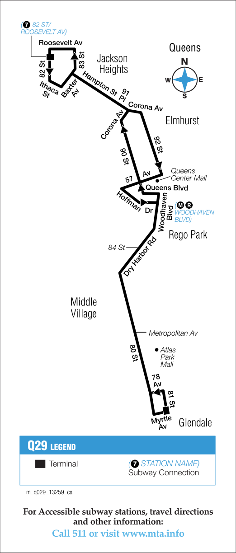 Queens Bus Schedules Q29 Bus Schedule ꙭ ᗷ ᑌ ᔕ T ḛd