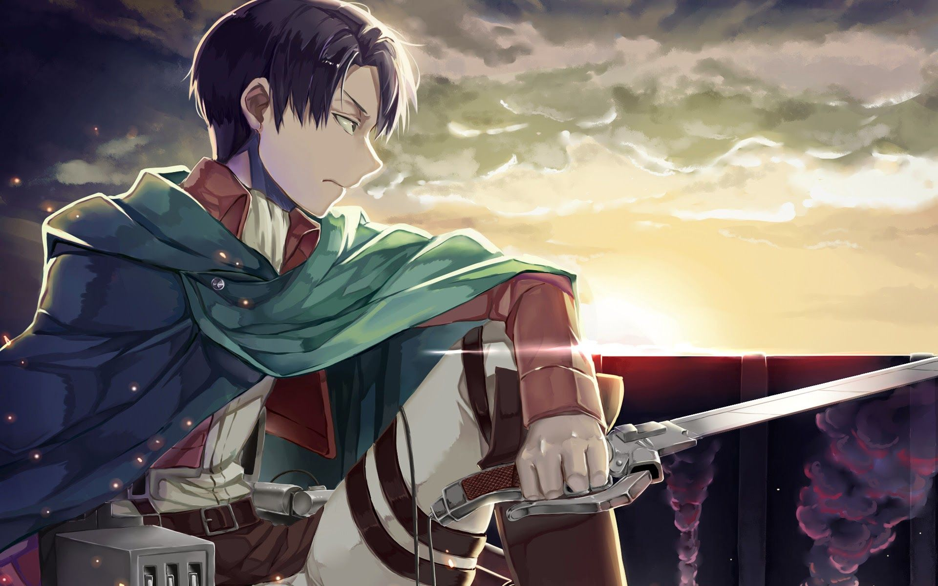levi rivaille from Attack on Titan Attack on Titan