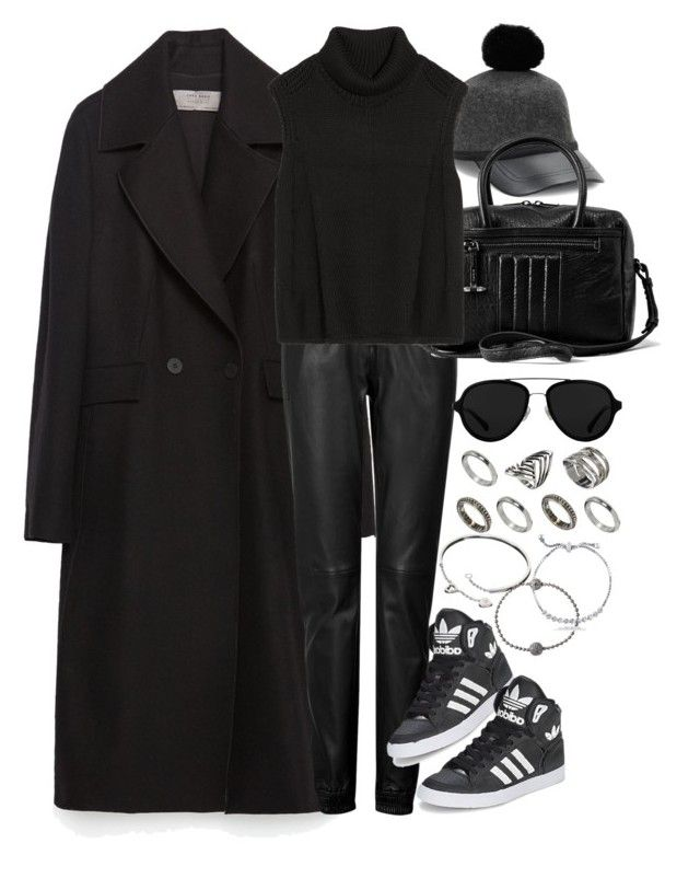 """""""Untitled #8272"""" by nikka-phillips ❤ liked on Polyvore featuring COLLECTION 18, Zara, Jitrois, AllSaints, Helmut Lang, ASOS, adidas, 3.1 Phillip Lim, Cartier and Shamballa Jewels"""