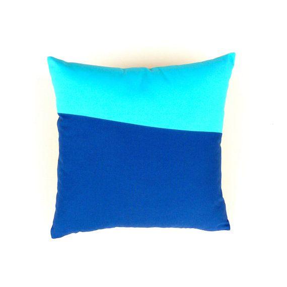 Throw Pillow Cover Sky Blue