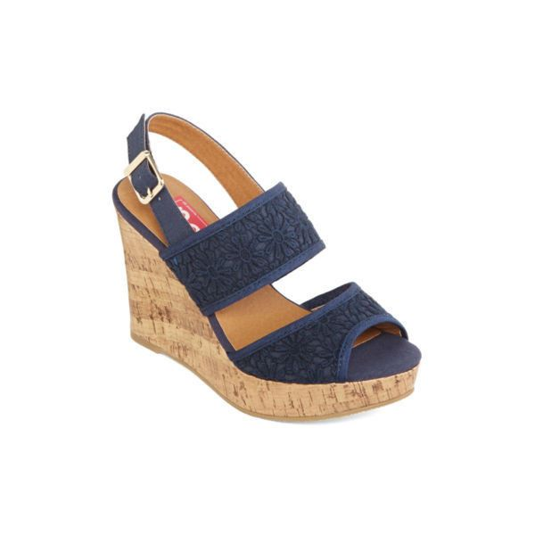 f82e2216d82fa Pop Eugena Wedge Sandals - JCPenney ( 60) found on Polyvore