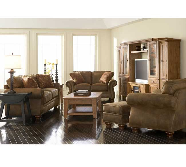 Laramie 5081 Sofa Group IN STOCK | Broyhill