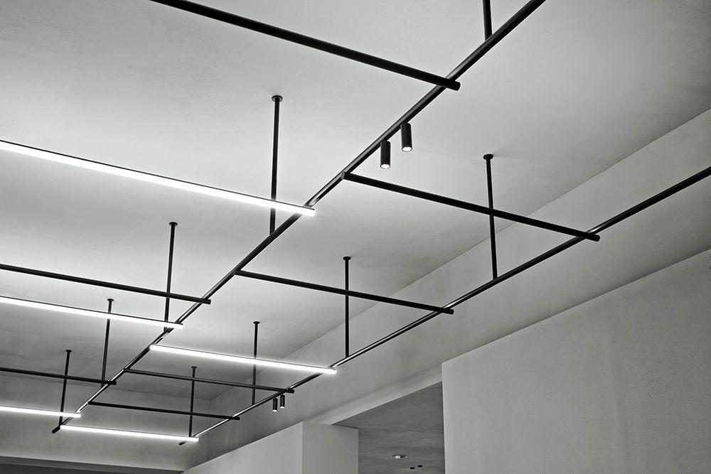 Infra Structure Vincent Van Duysen And Flos In 2020 Ceiling Light Design Industrial Ceiling