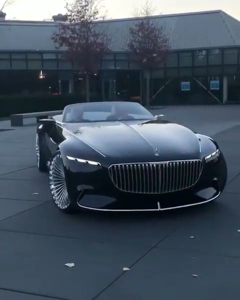 Mercedes Maybach Vision ???? #exoticcars