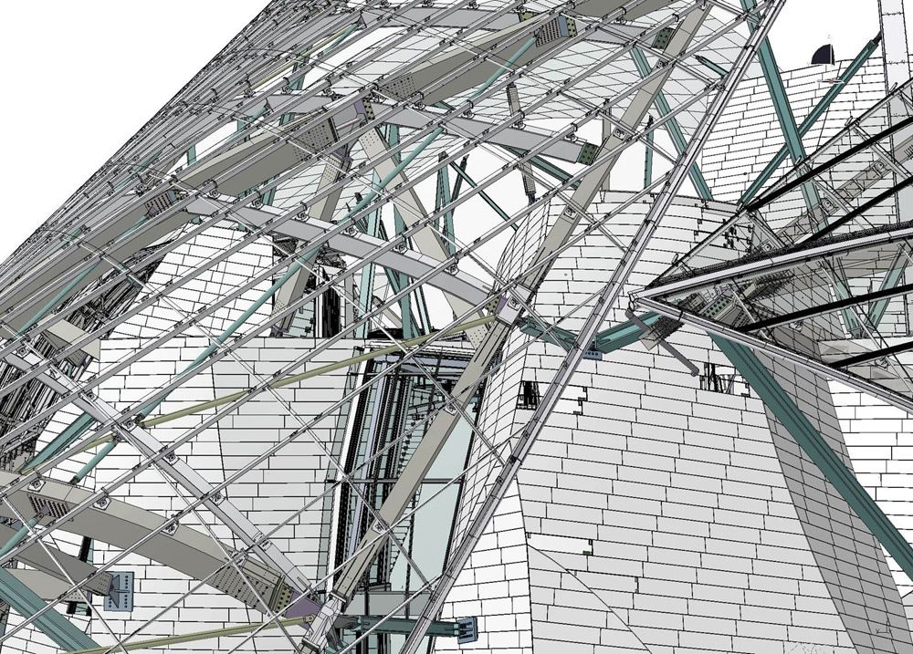 Louis Vuitton Museum    Frank Gehry has unveiled the design for the Louis Vuitton Foundation for Creation, a new museum for Modern Art in Paris. The building is commissioned by Bernard Arnault, chairman of LVMH (Louis Vuitton Moët Hennessy), and the richest man of France