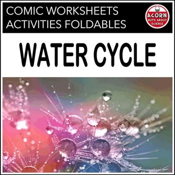 Water Cycle - The Water Cycle - Comic Book Maker   This unit is packed with activities, diagrams, foldables, task cards and much more.