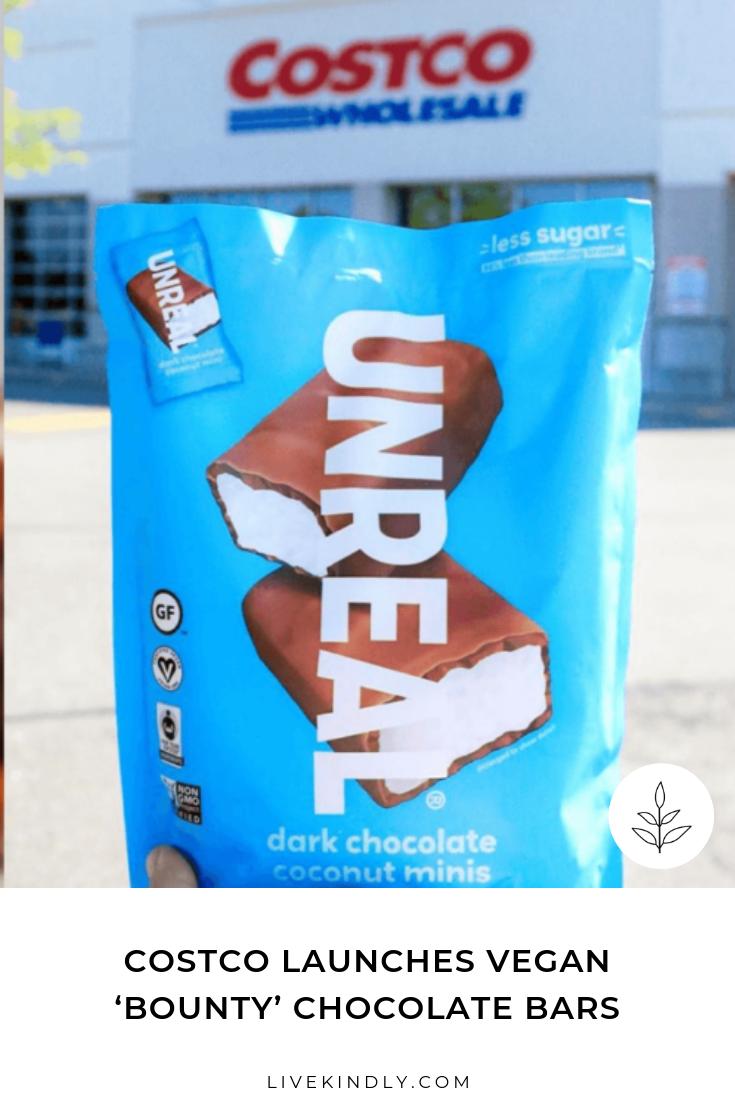 Costco Launches Vegan Bounty Chocolate Bars Bounty