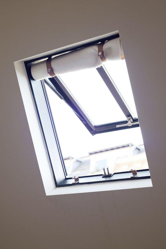 Fenêtre De Toît Castes Rideaux Bohème Appartement Dans