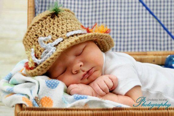 Pattern for Fishing Hat  Crochet by MySweetPotato3 on Etsy - that is too cute!