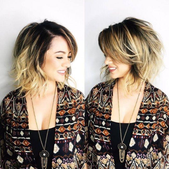 Magnifiques idées de couleurs pour cheveux courts et mi-longs tendance 2017