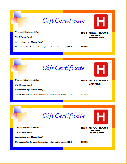 Travel Gift Certificate Download At HttpWwwDoxhubOrgTravel