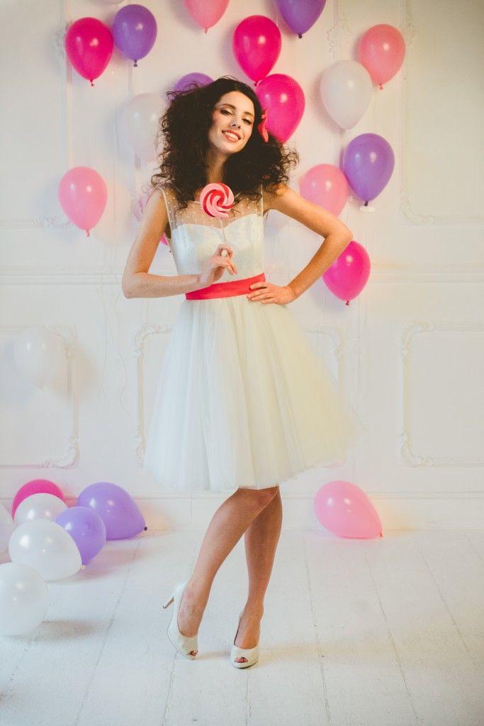 Bridal dress: Nadia Manzato Photo: Serena Cevenini