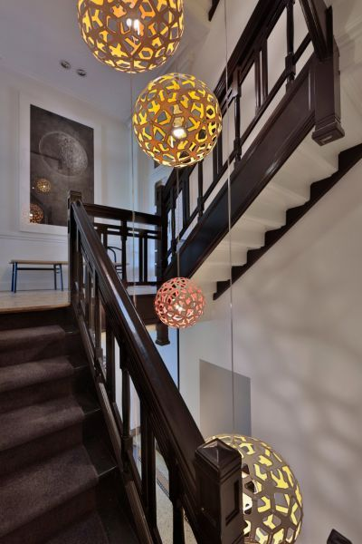 Clusters Of David Trubridge Lights Look Fantastic In Elongated Spaces. Play  With Shape, Size