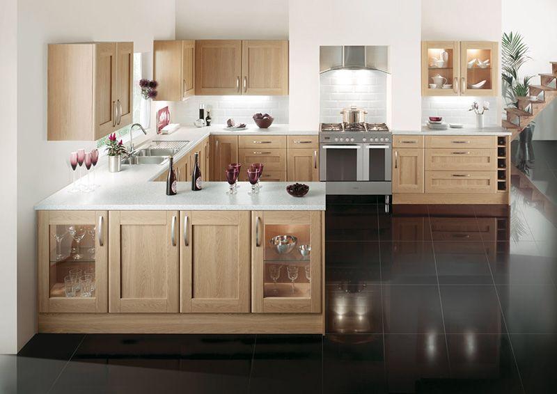34+ Oak shaker kitchen ideas