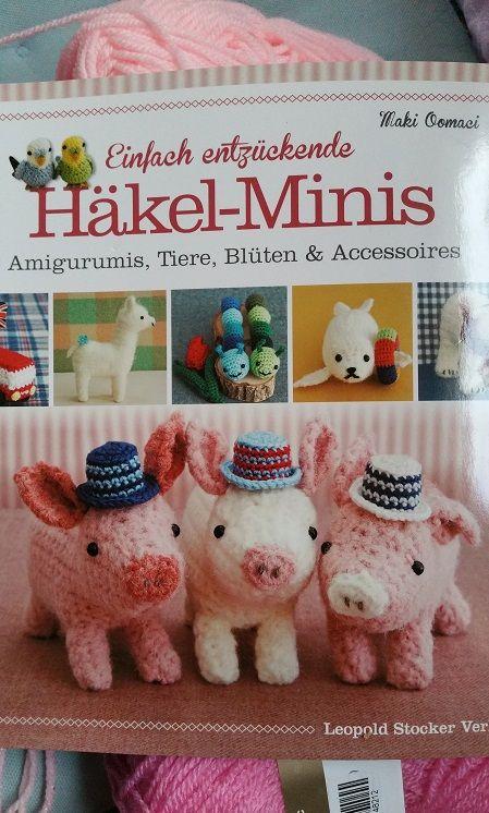 Einfach Entzuckende Hakel Minis Amigurumis Tiere Bluten Und Accessoires Minis Tiere Einfach