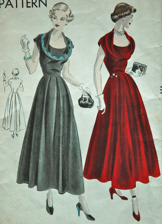 1940s Dress Design