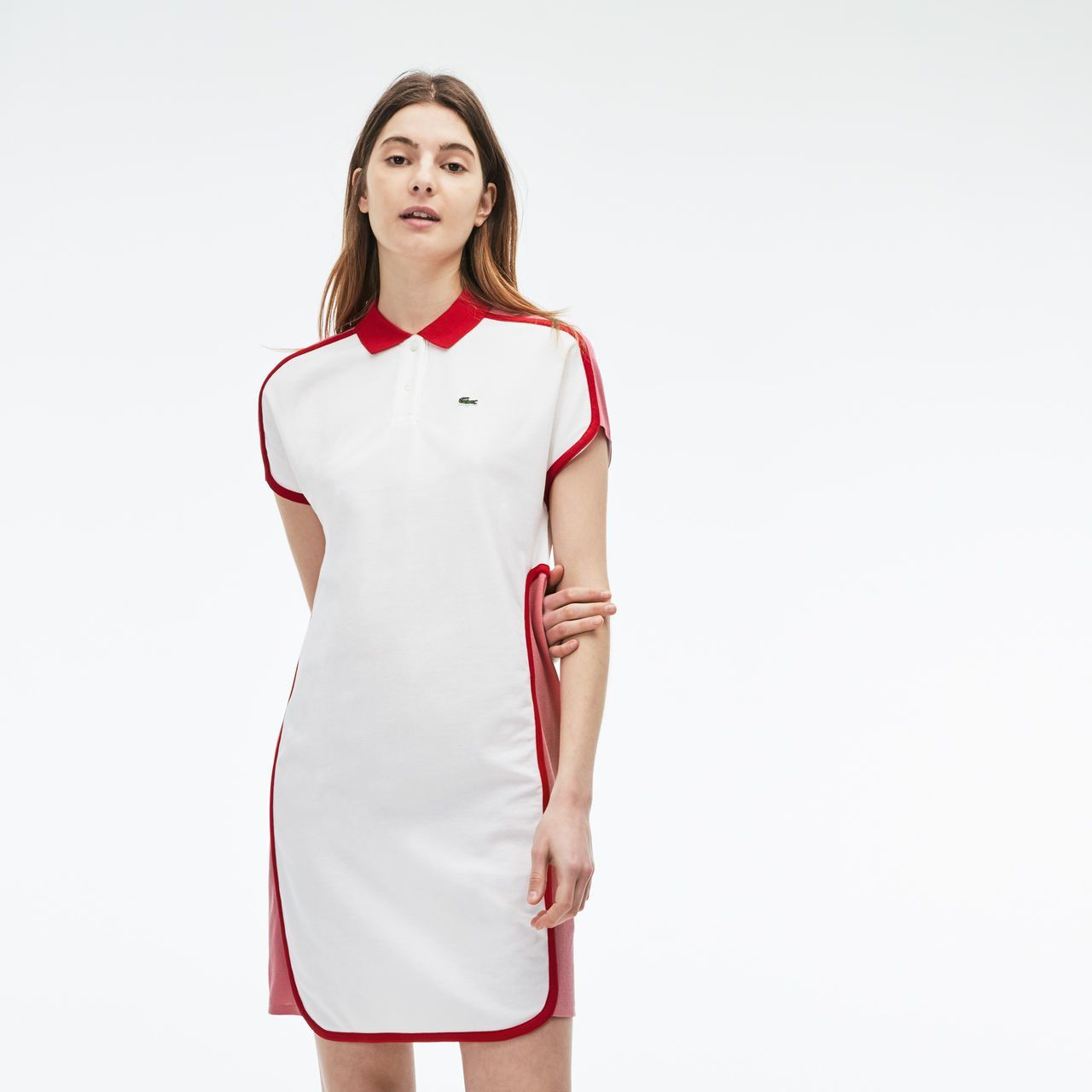 534ac65397 Women's Made in France Piqué Polo Dress | LACOSTE | [CLOTHES ...
