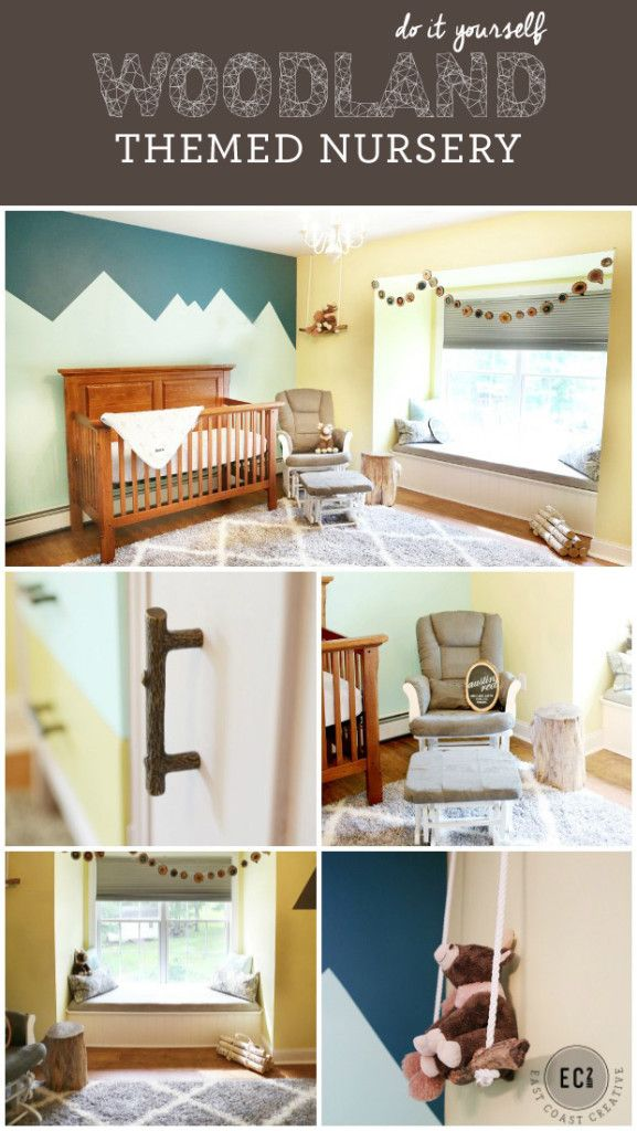 Diy Woodland Themed Nursery Makeover Love