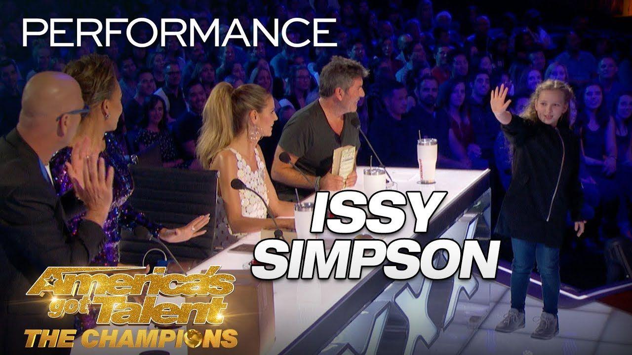 Issy Simpson Kid Shocks Judges With Unbelievable Magic Trick