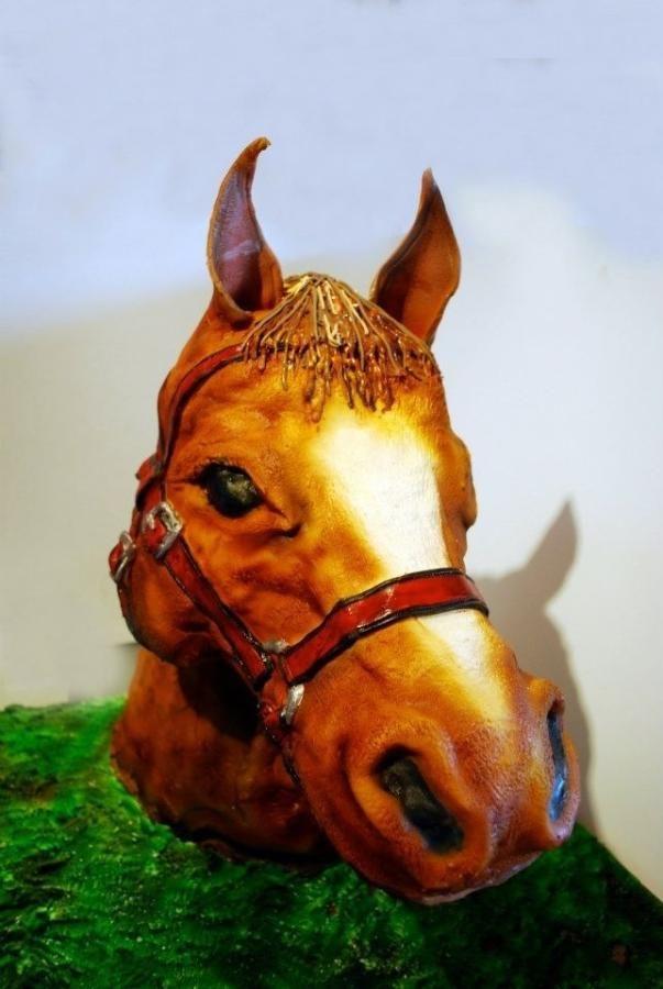 Horses head cake - Cake by Steph