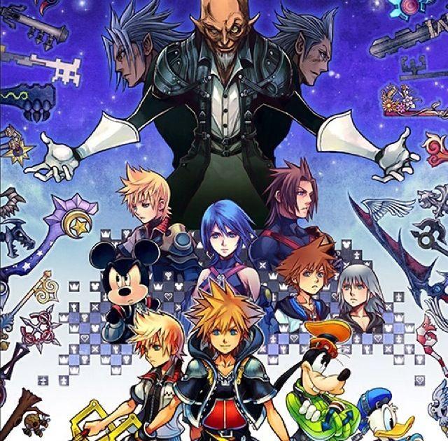 Five Whole Months Kingdom Hearts Hd Kingdom Hearts Ii Kingdom Hearts Characters
