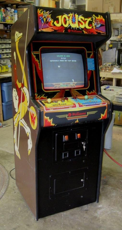 Joust Upright Dedicated Arcade Game, Williams Classic Two ...