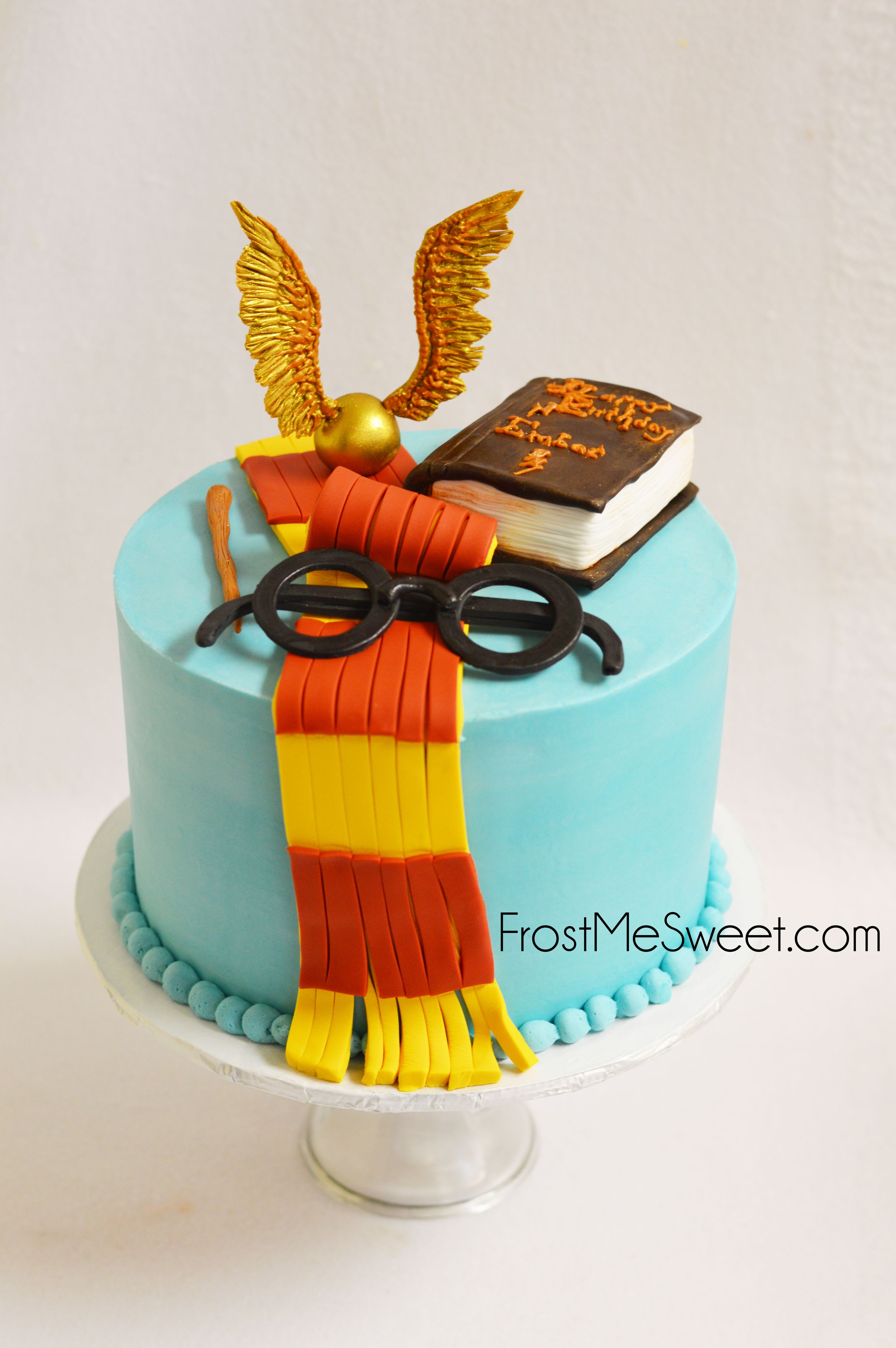 Harry Potter Cake With Images Harry Potter Wedding Cakes