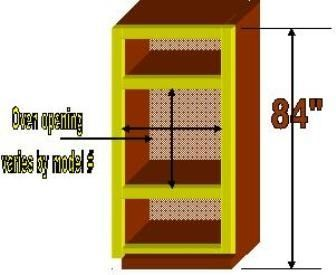 How To Build A Wall Oven Cabinet Hunker Oven Cabinet Wall