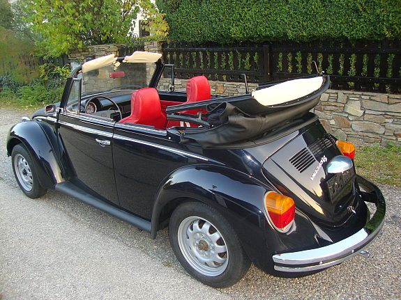 vw k fer cabrio 1303ls oldtimer 1975 traumautos. Black Bedroom Furniture Sets. Home Design Ideas