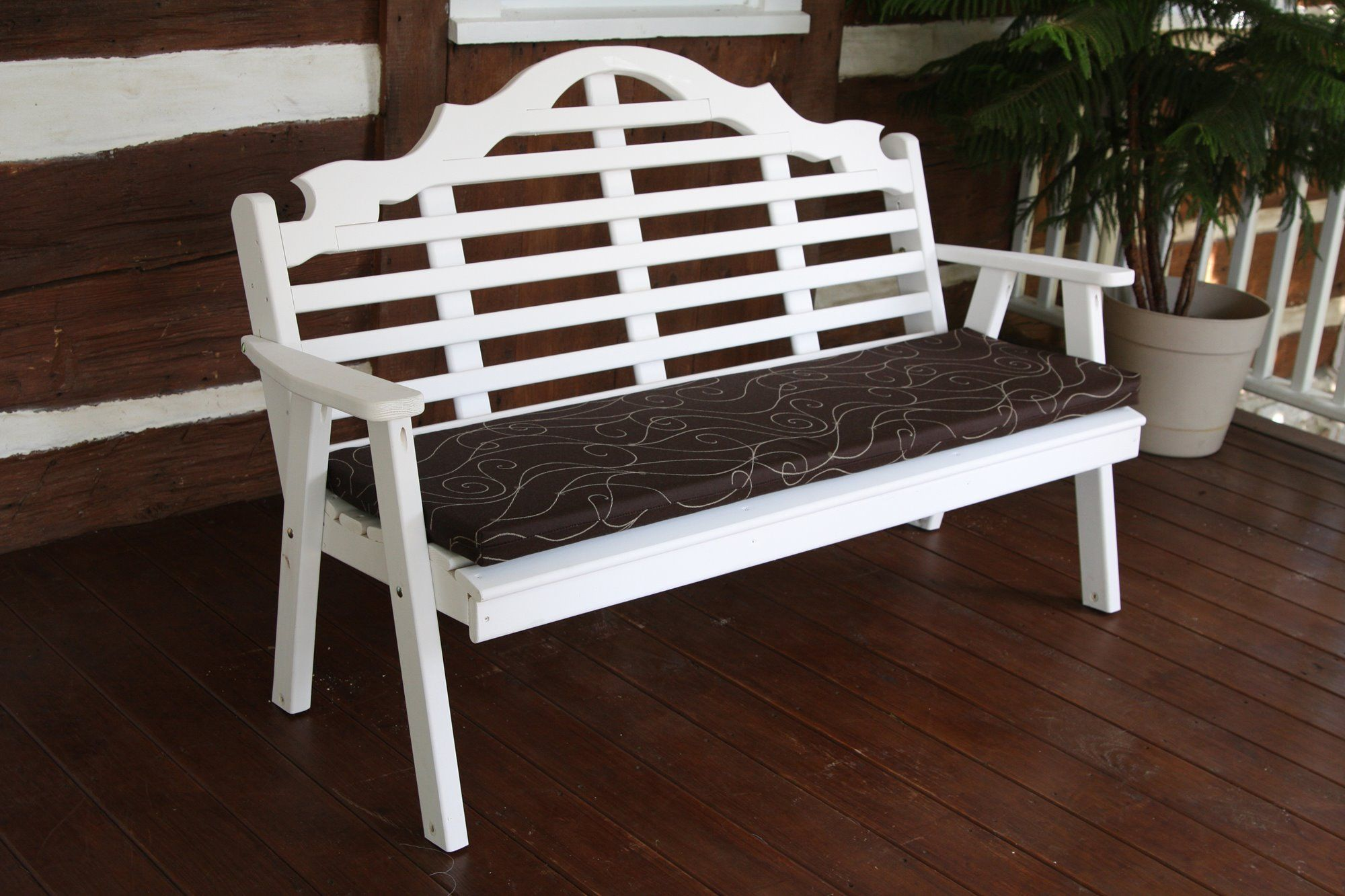 Pine 5 Marlboro Bench A L With Images Garden Bench Outdoor
