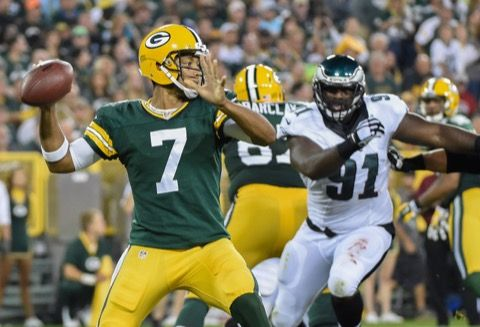 Van Pelt Brett Hundley Will Be Solid Starter With Images Green Bay Packers Packers Green Bay