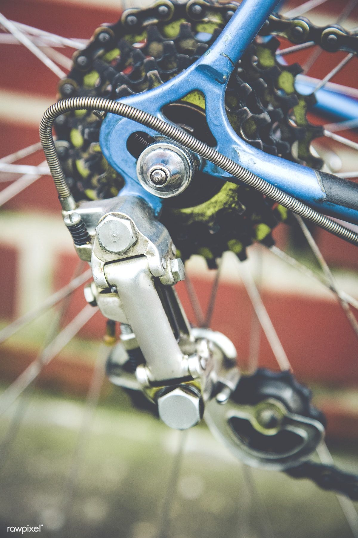 Close Of Up Bike Gears Free Image By Rawpixel Com