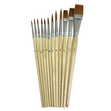 Toys Watercolor Brushes Detailed Paintings Brush Set