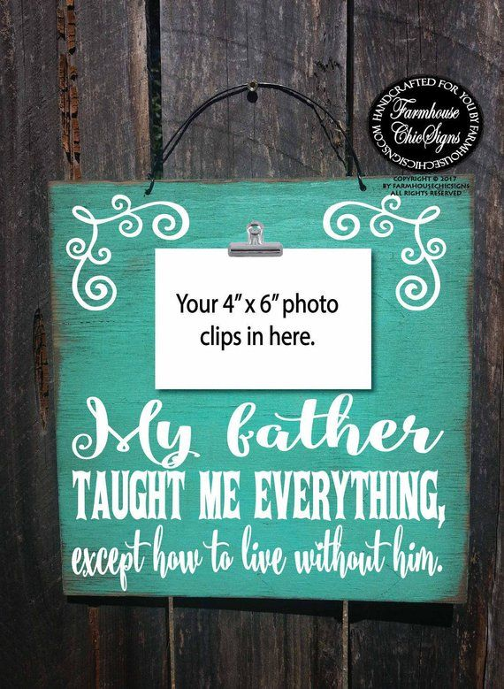 Photo of cadeau commémoratif, dans la mémoire aimante de papa, plaque commémorative, dans le signe de la mémoire aimante, mémorial du père, papa ange, cadeaux de souvenir du père, 325