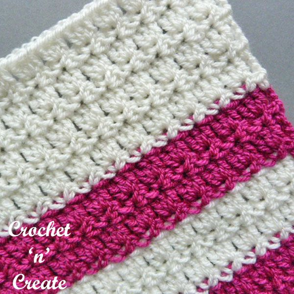 Free Crochet Stitch Tutorial-Primrose Stitch #crochetstitchestutorial
