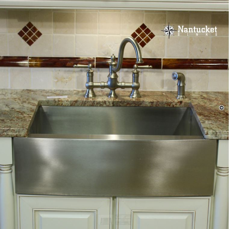 33 Nantucket Sinks Stainless Steel Apron Front Farm Sink