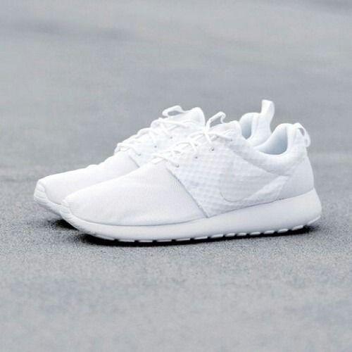 All White Nike
