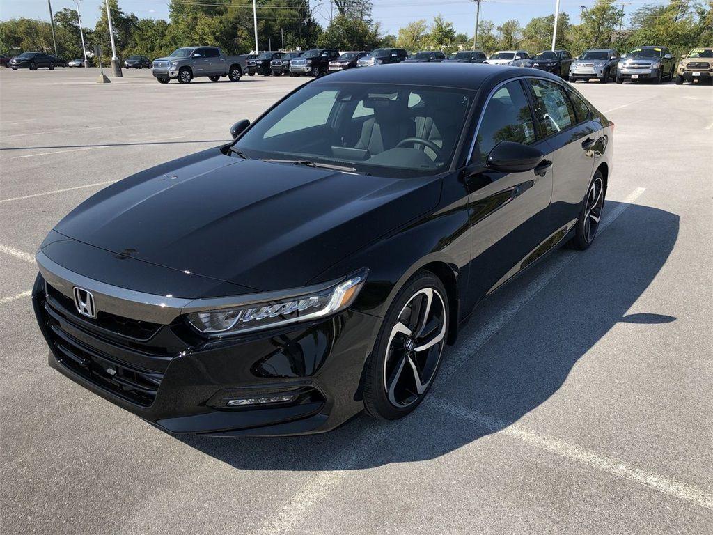 2019 Honda Accord Sport Interior in 2020 Honda accord